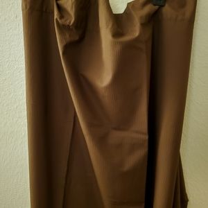 RE Room Essentials Blackout Brown Curtains